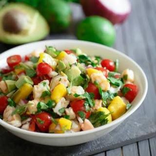 Shrimp Mango Avocado Salad Recipes