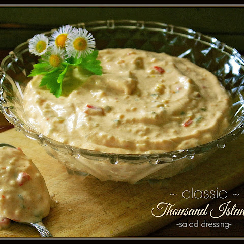 Classic Thousand Island Salad Dressing