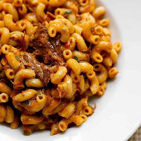 Grown-Up Beefaroni