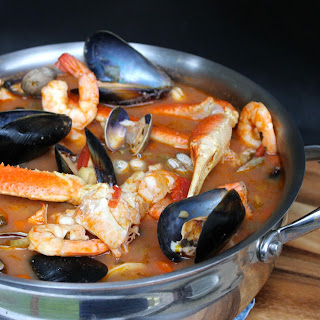 Seafood Stew In Saffron Broth Recipes