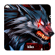 Bloody Metal Scary Wolf Keyboard Theme APK