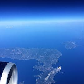 vue d'avion by Nathalie Coget - Landscapes Travel