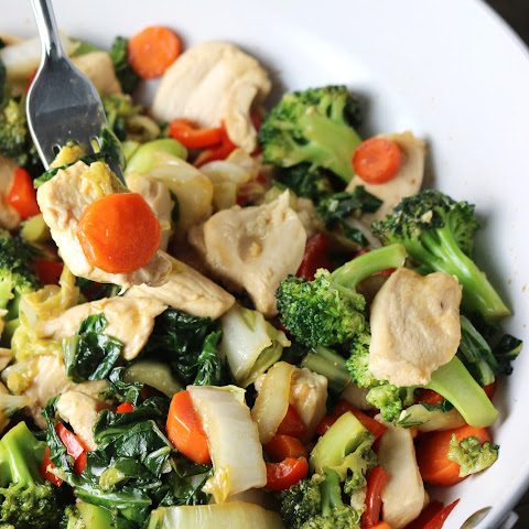 Super Green Stir-Fry with Chicken