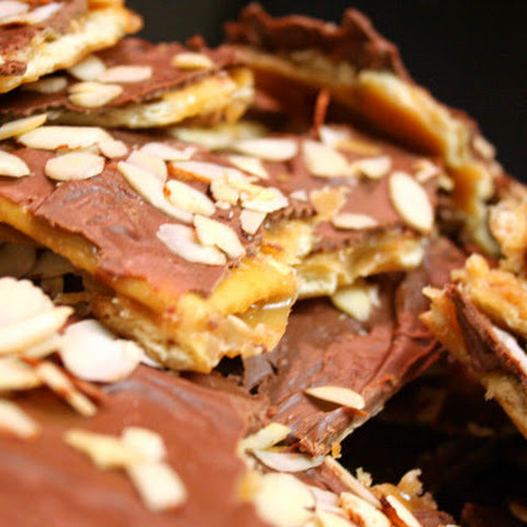 Easy Saltine Toffee Candy