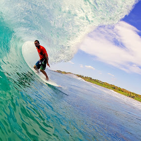TR by Trevor Murphy - Sports & Fitness Surfing ( barrels, surfing, tmurphyphotography, randy townsend, costa rica )