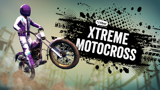 Viber Xtreme Motocross screenshot 1