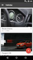 Screenshot of Fuelio: Fuel log & costs