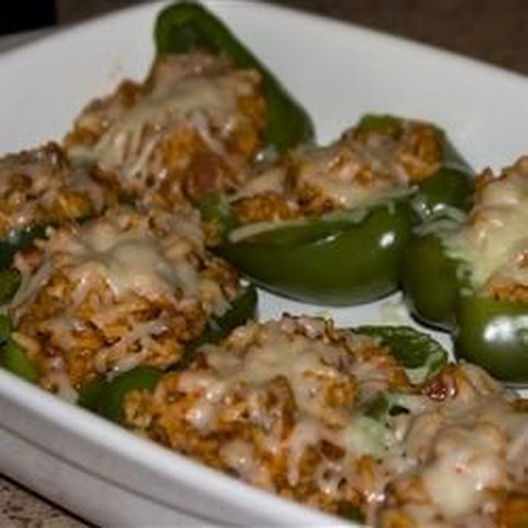 Healthy Stuffed Bell Peppers With Ground Beef Recipes | Yummly
