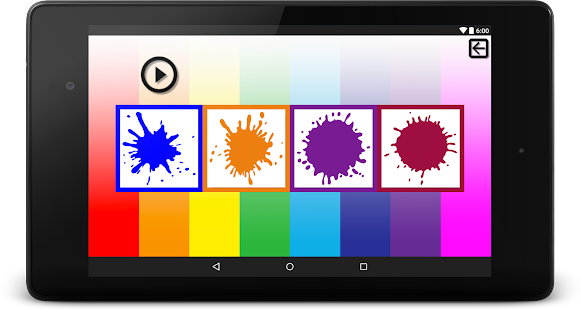 Learn colors- screenshot