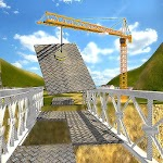 Bridge Builder Crane Simulator 1.0 Apk