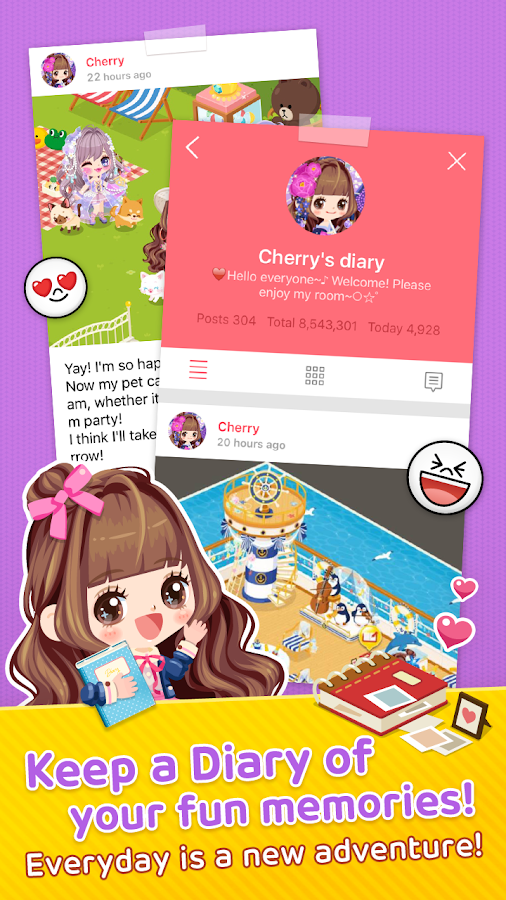 LINE PLAY - Your Avatar World Screenshot 9