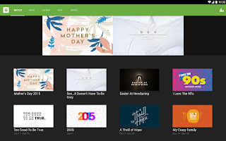Screenshot of NewSpring Church