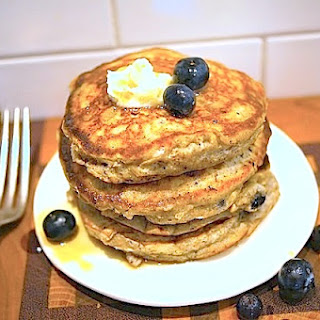 Blueberry Wheat Germ Pancakes Recipes