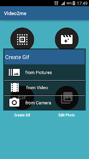 Video2me Pro:Video Gif Maker- screenshot thumbnail