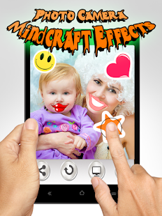 Photo Camera Mind-Craft Effect - screenshot