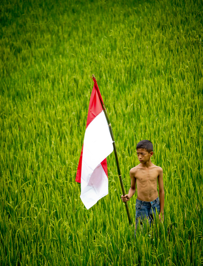 Proud to be Indonesian by Marchiando Wicaksono - People High School Seniors