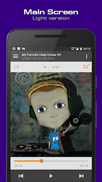 AIMP APK screenshot thumbnail 1