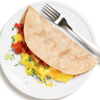 Southwestern Breakfast Burrito (pictured above)