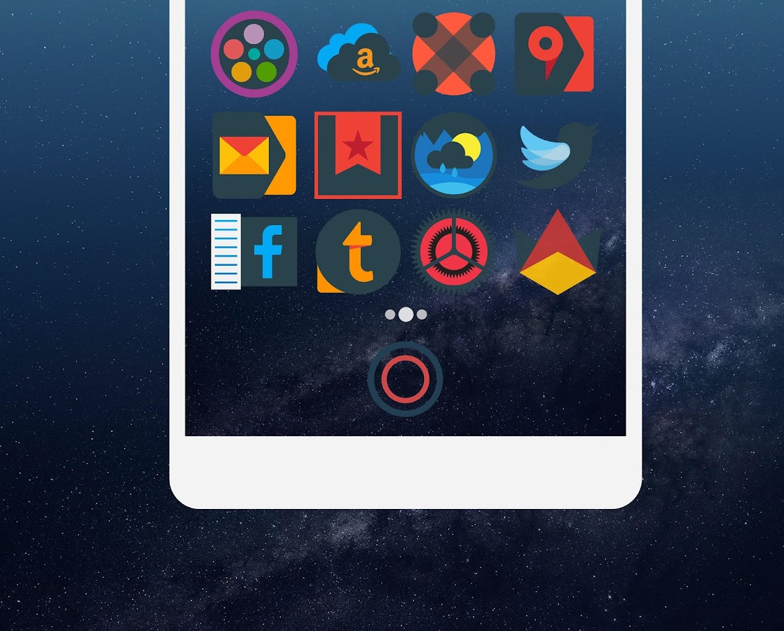 Mellow Darkness - Icon Pack Screenshot 3