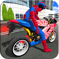 Bike Super Hero Stunt Driver Racing  on PC / Download (Windows 10,7,XP/Mac)