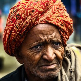 Old Man by Sanjit Chowdhury - People Portraits of Men