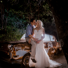 First Kiss by Lood Goosen (LWG Photo) - Wedding Bride & Groom ( kiss, wedding photography, wedding photographers, weddings, wedding, bride and groom, wedding photographer, bride, groom, bride groom )