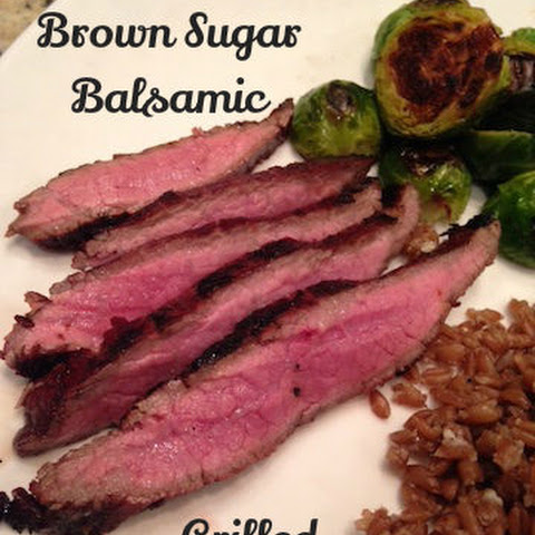 Brown Sugar & Balsamic Grilled Flank Steak