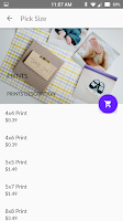 Screenshot of PostalPix Photo Prints