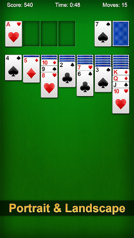 android Solitaire Screenshot 2