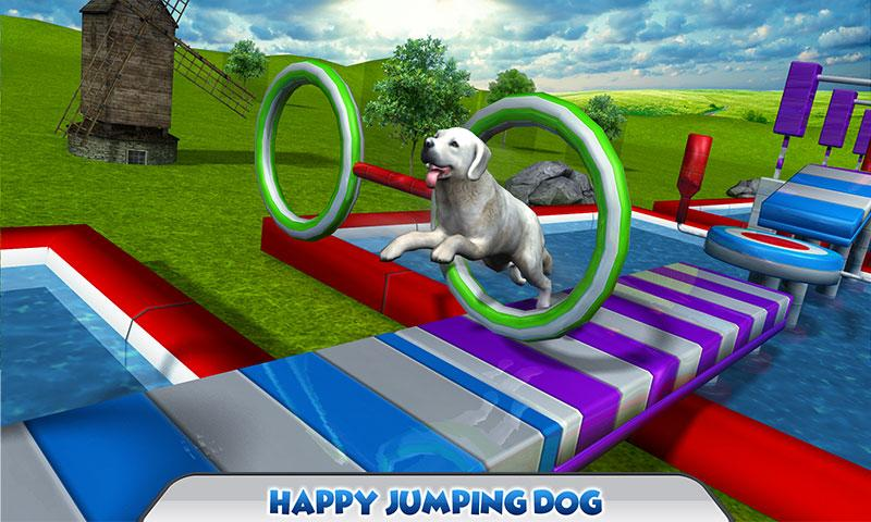 Stunt Dog Simulator 3D Screenshot 0