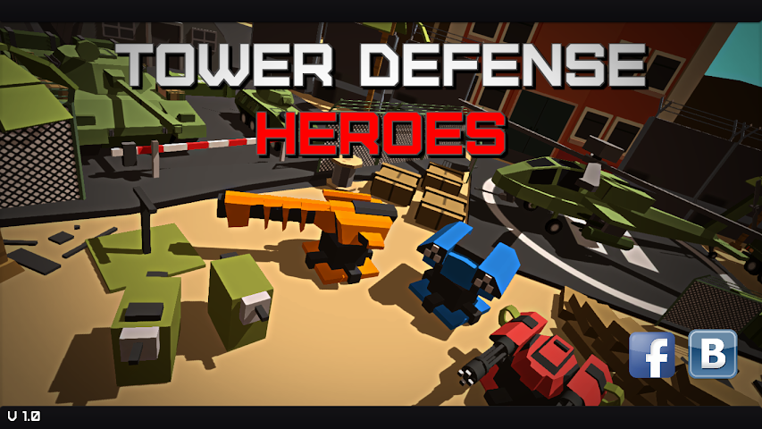 android Tower Defense Heroes Screenshot 0