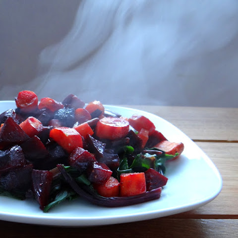 Roasted Beets and Carrots with Grapefruit Glaze