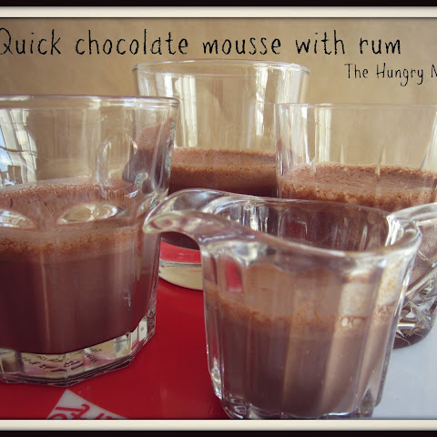 Easy Chocolate Mousse With Rum