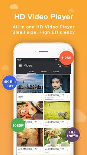 HD Video Player - Media Player screenshot 1