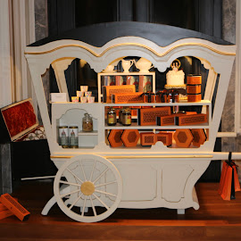 Cart of goodies by Jair Dsouza - Artistic Objects Furniture ( taj palace mumbai )