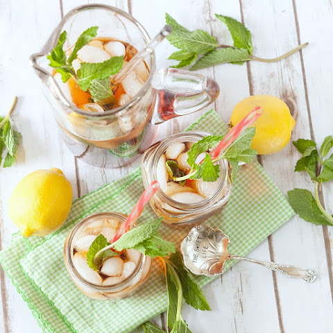 Lemongrass Mint Iced Tea