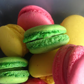 macaroons by Anne-Marie Parkin - Food & Drink Cooking & Baking ( colour, bake )