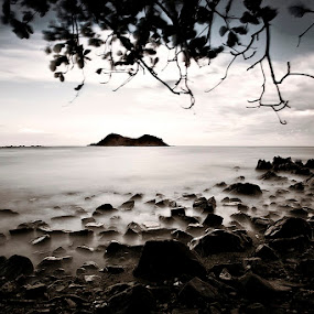 . by Ruel Tafalla - Landscapes Beaches ( pwcbwlandscapes )