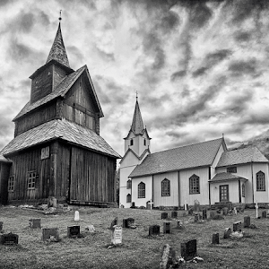 Stavkirke-Torpo BW.jpg