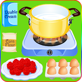 Cook Cake With Berries Games APK icon