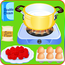 cook cake with berries games