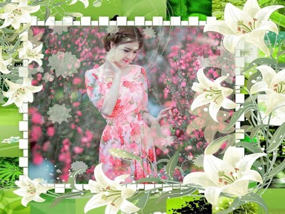 Flower Frame Collage - screenshot