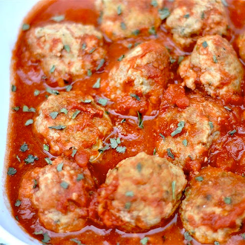 Slow Cooker Paleo Turkey Meatballs