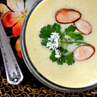 Chilled Cauliflower and Yogurt Soup