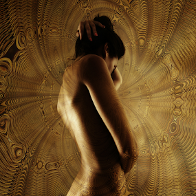 UNIVERSUM by Carmen Velcic - Digital Art People ( abstract, body, nude, woman, she, digital )