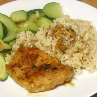Orange Spiced Pork Chops