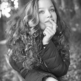 by Stanislav Hubáček - Black & White Portraits & People