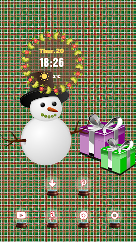 android The Snowman With A Hat Screenshot 1
