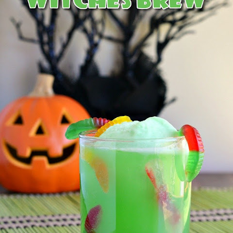Halloween Witches Brew Punch Drink