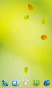 Leaves Live Wallpaper - screenshot